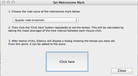 Set metronome mark sibelius 7 / Ethereum tokens 9c video